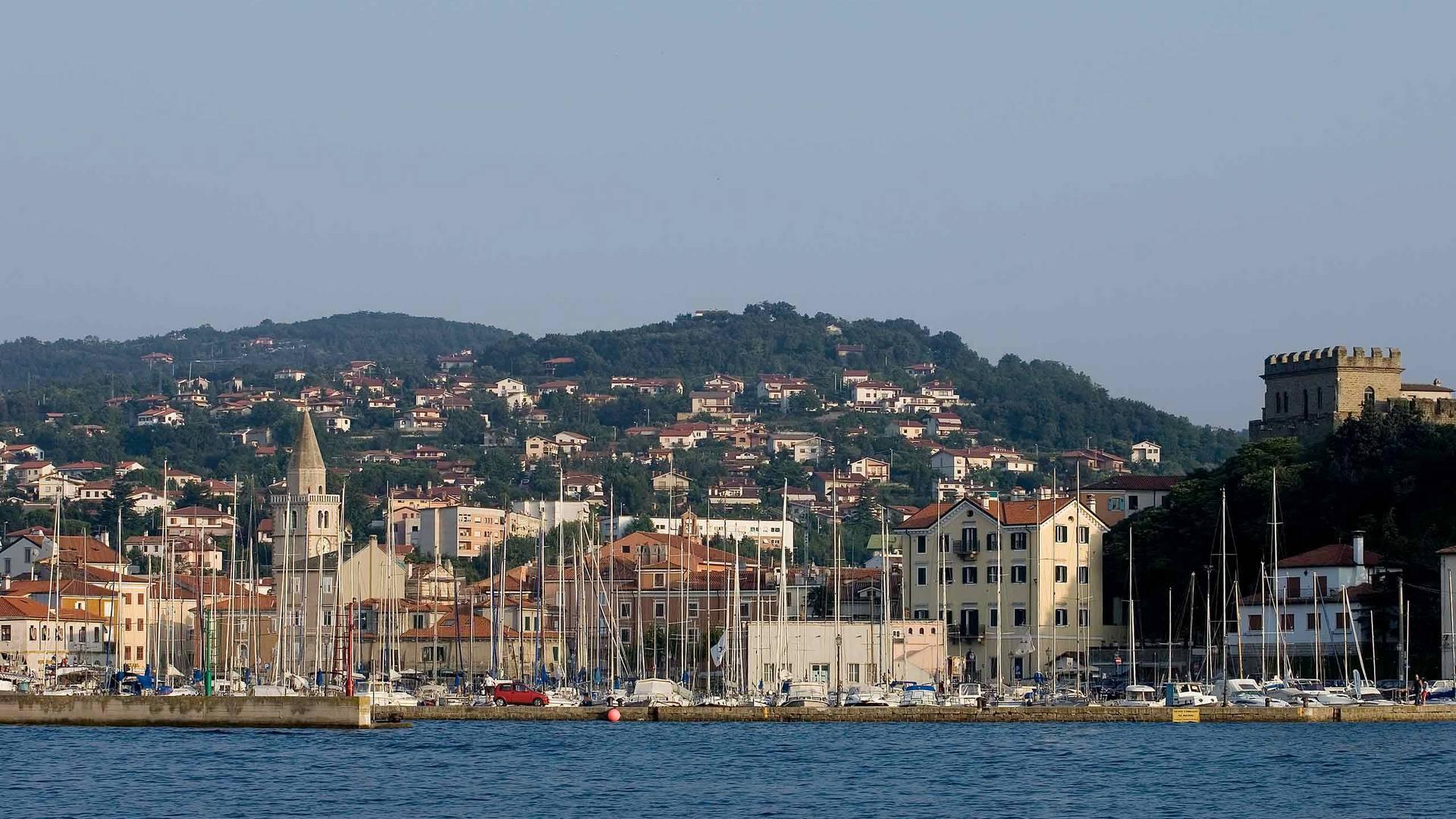 Hafen von Muggia