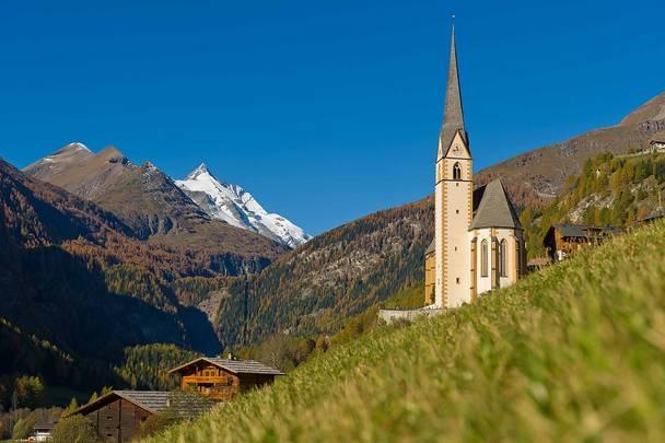 Kirche in heiligenblut grossglockner original
