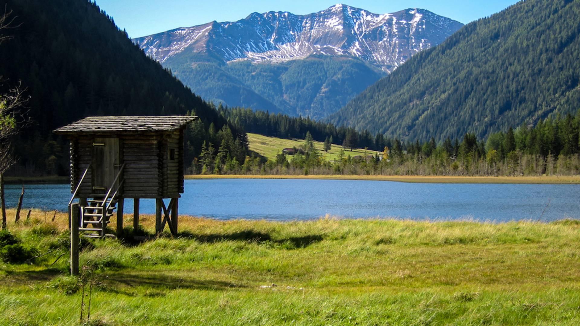 Alpe adria trail stappitzer see komprimiert