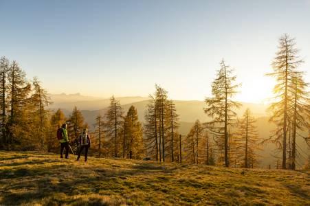 Golden autumn on the Alpe-Adria-Trail
