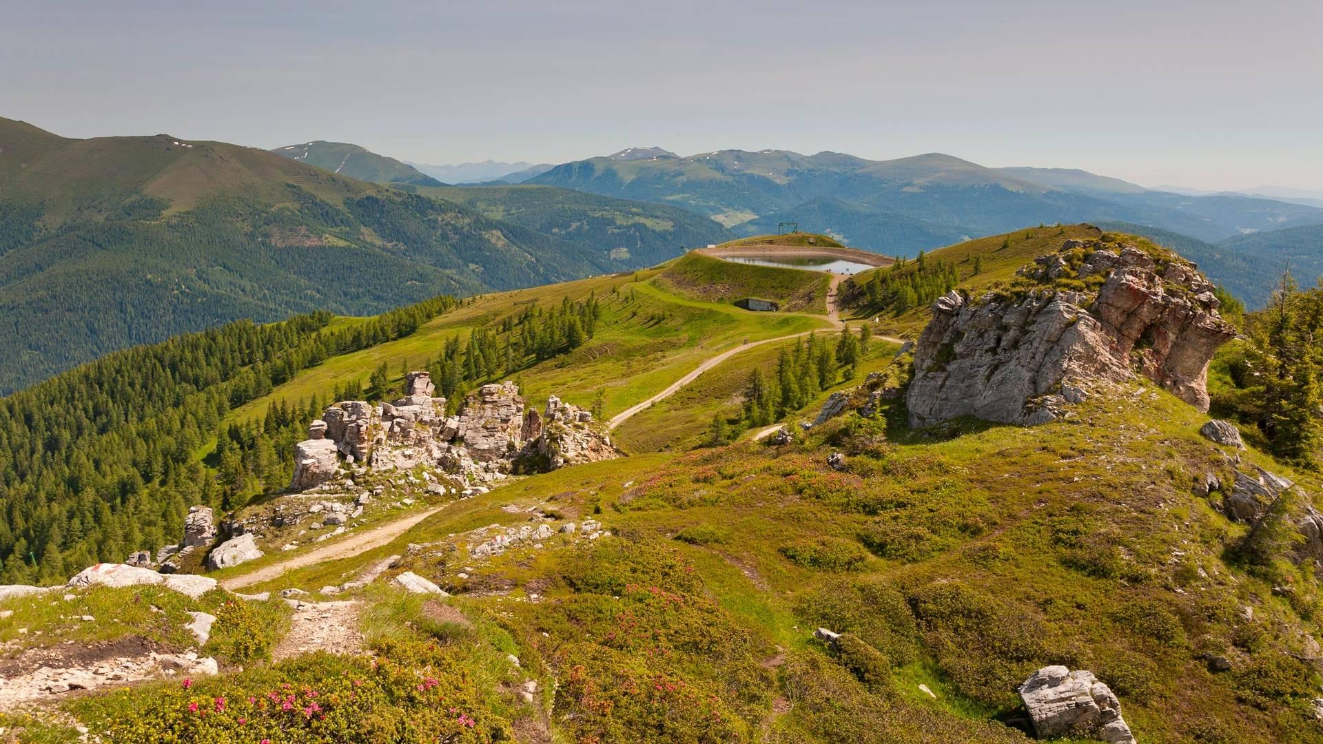 Alpe adria trail nockberge original