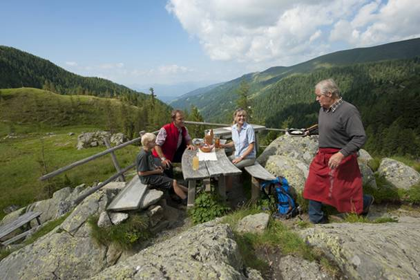Kulinarik am Alpe Adria Trail Kaernten Werbung Fotograf Franz Gerdl