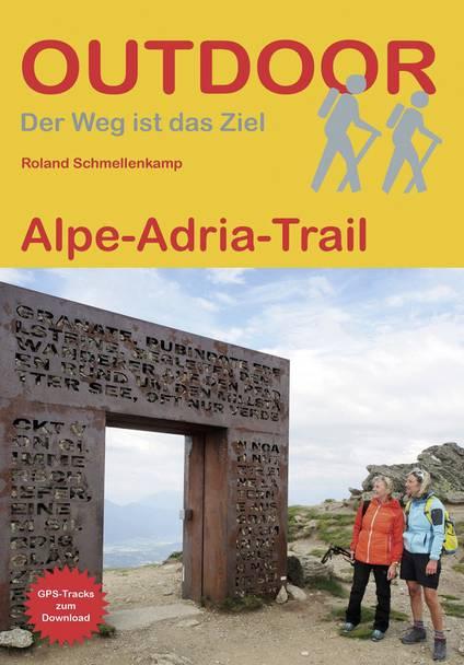 Outdoor Wanderführer Alpe-Adria-Trail Conrad Stein Verlag